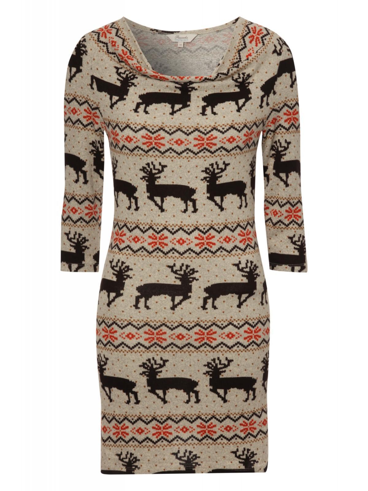 Womens Cowl Neck Sweater Dress   Peacocks