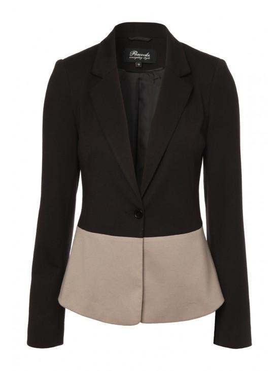 Womens Block Coloured Jacket