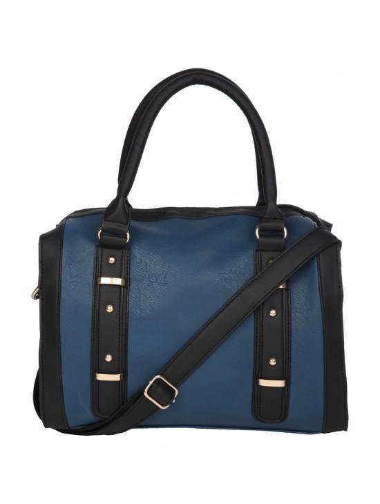 Womens Contrast Bowler Bag