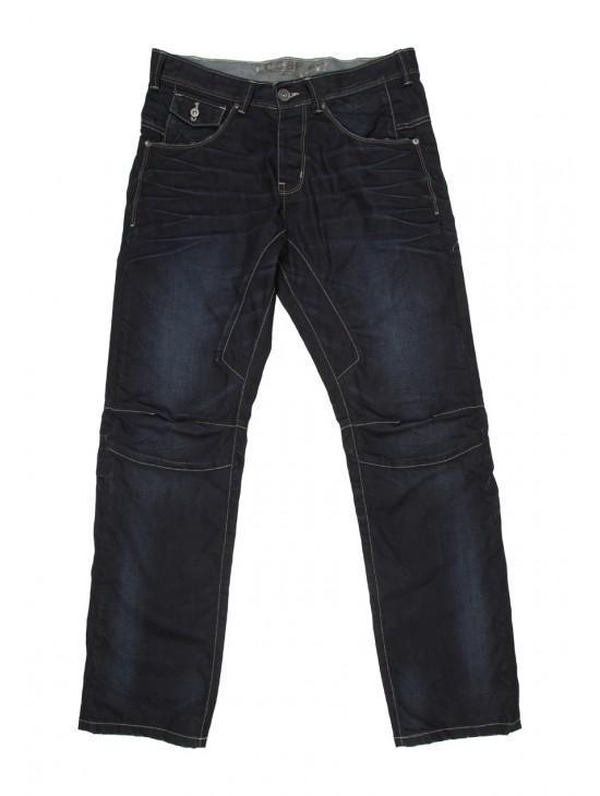 Mens Dark Slouch Jeans