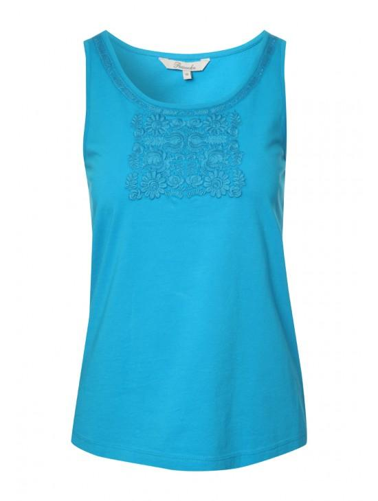 Womens Embroidered Vest
