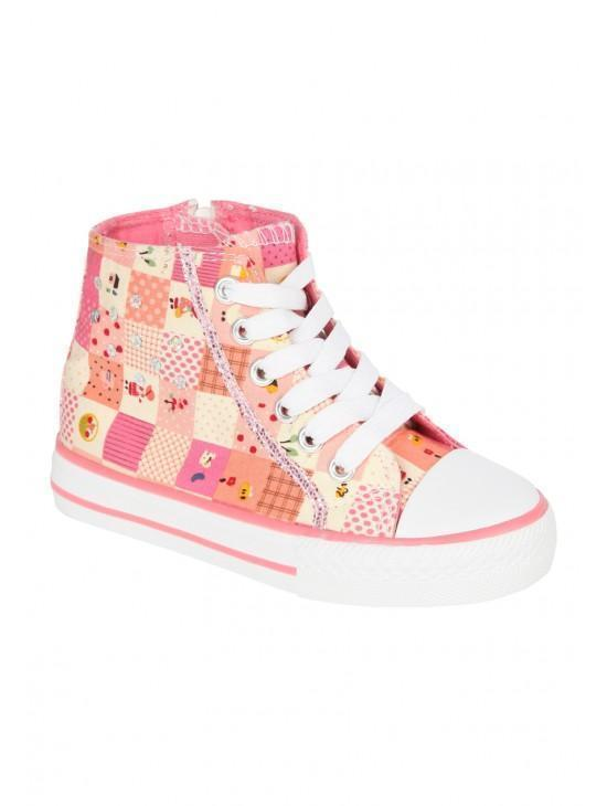 Younger Girls Patchwork Shoe