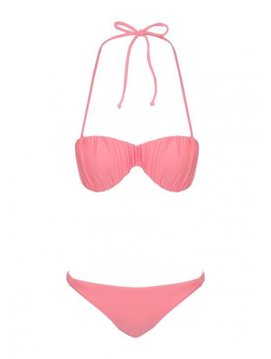 Womens Gathered Bikini