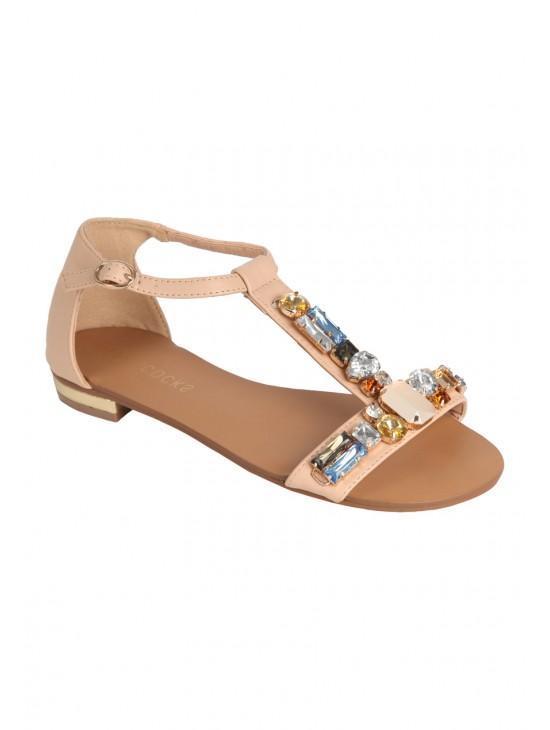 Womens Gem Stone Sandals