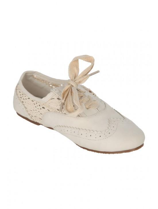 Older Girls Crochet Shoe