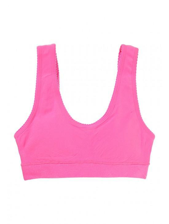 Older Girls Seamfree Padded Crop Top