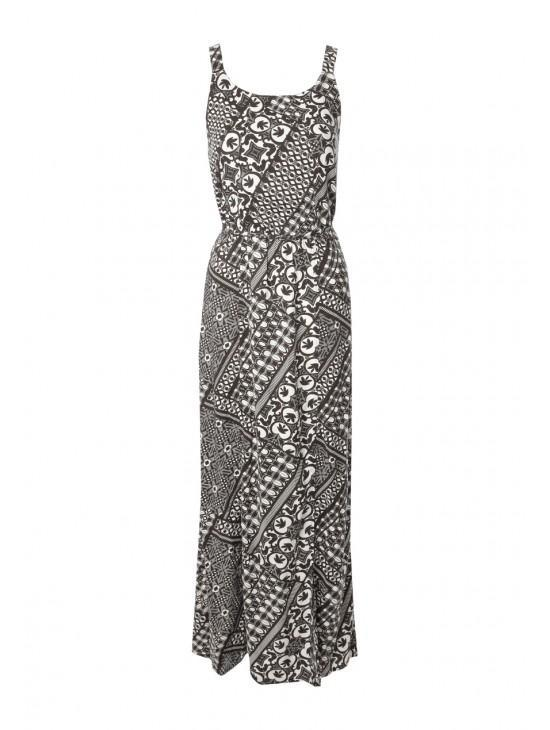 Womens Scarf Maxi Dress