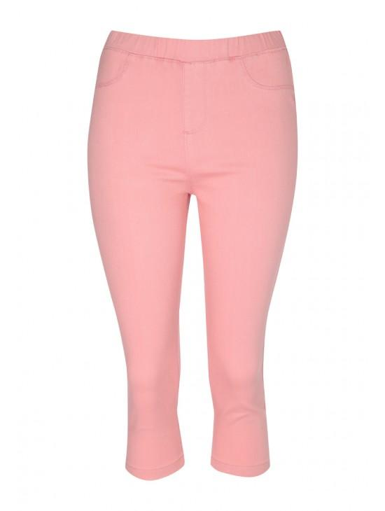 Womens Coloured Cropped Jegging