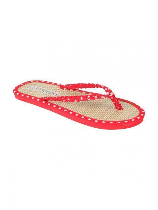 Womens Raffia Flip Flop