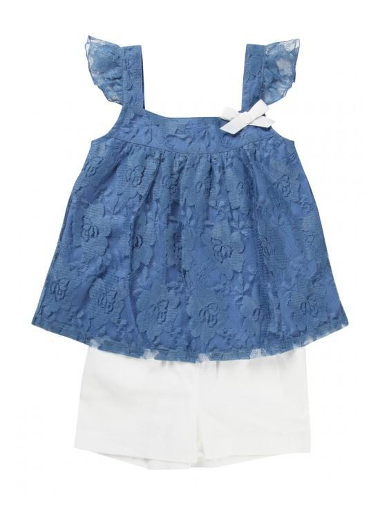 Younger Girls Lace Set