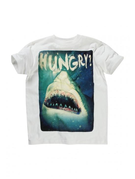 Older Boys Shark T-shirt