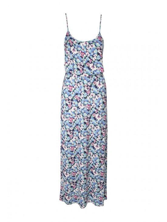 Womens Maxi Frill Dress