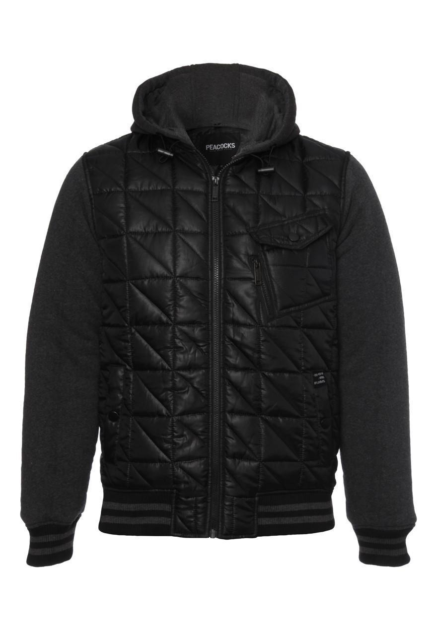 Mens Quilted Bomber Jacket | Peacocks