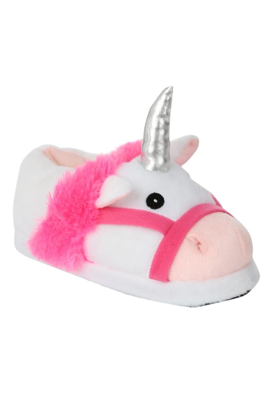 womens older girls novelty 3d unicorn slipper peacocks. Black Bedroom Furniture Sets. Home Design Ideas