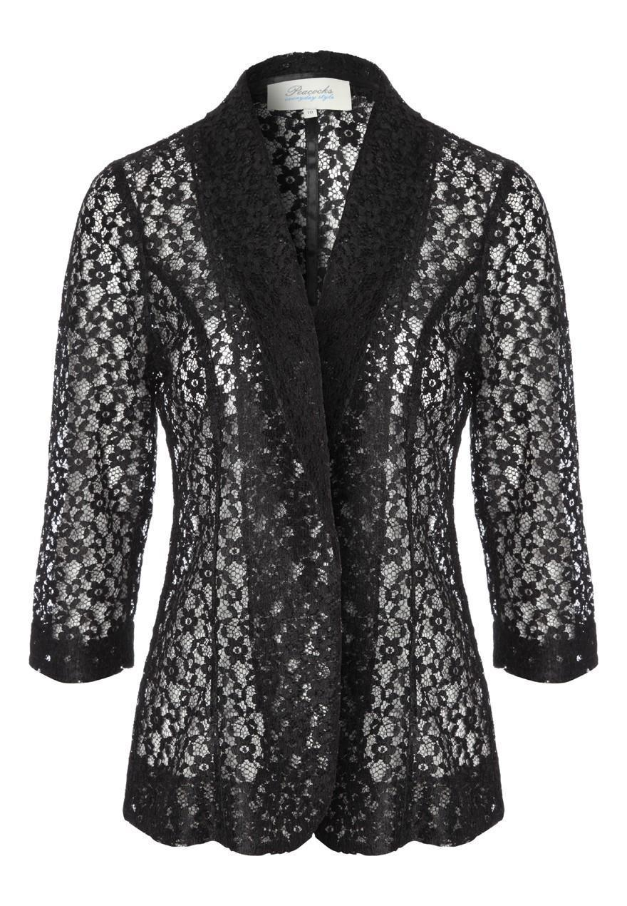 Women's Elongated Lace Jacket with Short Empire Waist Dress (Petite and Regular Sizes) from $ 95 Prime. out of 5 stars 3. Romanstii. Womens Lace Shrug Short Sleeve Sheer Bolero Cardigan for Women Dresses Jacket. from $ 15 98 Prime. 5 out of 5 stars 5. Alex Evenings. Women's Plus Size Lace Jacket .