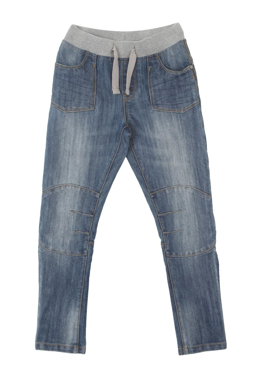 An easy-on denim pair - without the hassle of buttons!