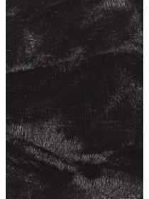 Womens Large Black Velvet Bow Headband