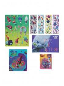 Girls Dreamworks Trolls Mega Sticker Set