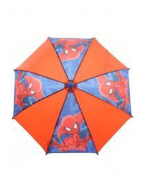 Younger Boys Red Spiderman Umbrella