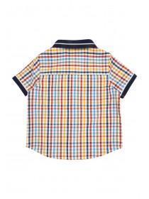 Baby Boys Check Polo Shirt