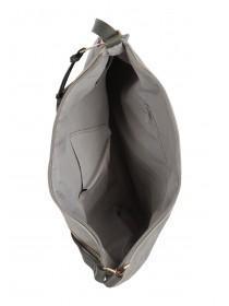 Womens Grey Across Body Bag