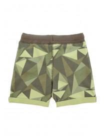 Younger Boys Khaki Camo Shorts