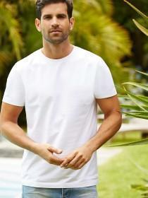Mens White Crew T-Shirt