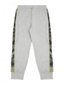 Younger Boys Grey Camo Panel Jogger