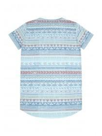 Older Boys Blue Viva Cuba Tile T-Shirt
