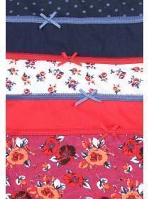 Girls 5pk Floral Briefs