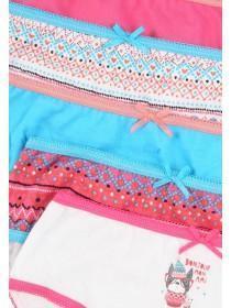 Younger Girls 5PK Hot Pink Briefs