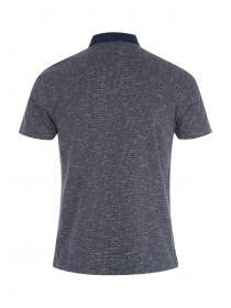 Mens Smart Jacquard Polo Shirt
