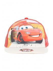 Younger Boys Red Cars Baseball Hat