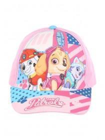 Younger Girls Pink Paw Patrol Baseball Hat