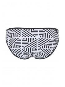Jane Norman Mono Aztec Print Bikini Brief