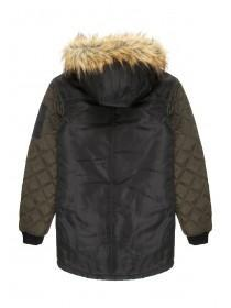 Older Girls Two Tone Quilted Jacket