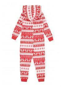 Boys Red Christmas Onesie