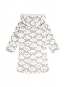 Younger Girls Fleece Cloud Print Nightdress