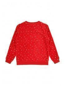Girls Red Penguin Pyjamas