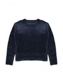 Older Girls Teal Chenille Jumper