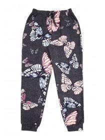 Girls Butterfly Print Bottoms