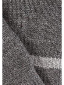 Mens Grey Thinsulate Fingerless Gloves
