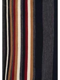 Mens Multicolour Stripe Scarf