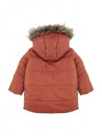 Baby Boys Orange Parka