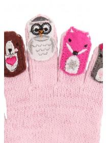 Younger Girls Woodland Gloves