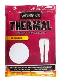 Womens White Thermal Leggings