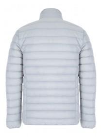 Mens Grey Padded Lightweight Jacket