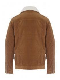 Mens Tan Lined Jacket