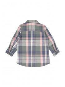 Younger Girls Check Shirt