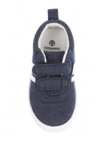 Younger Boys Blue Plimsoll Trainers